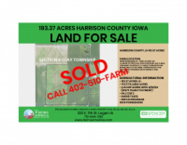 Sold - 2 Harrison County Farms For Sale