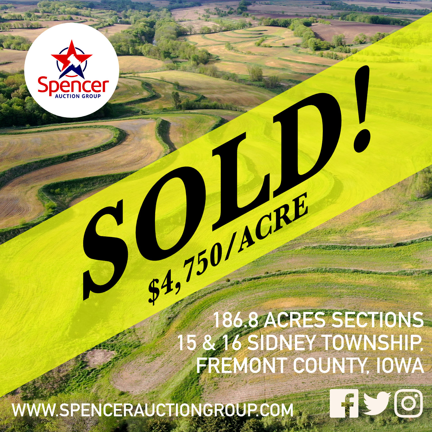 SOLD - 186.8 ACRE FREMONT COUNTY IOWA